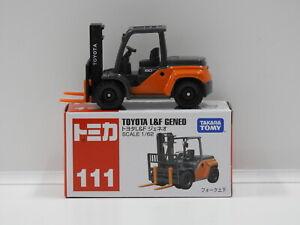 1:62 Toyota L&F Geneo - Made in Vietnam Tomica 111