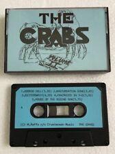 THE CRABS Vintage DIY DEMO / PROMO cassette tape Sheffield UK punk RnR RARE 1994