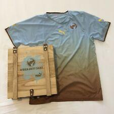 Puma Africa Unity Shirt Trikot Fussball LIMITED EDITION mit Holzbox Gr. L Herren