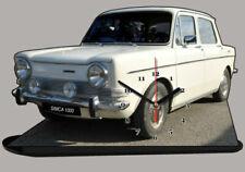 Voitures de tourisme miniatures blancs cars