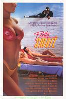 PRETTY SMART MOVIE POSTER Original 27x40 Advance Style 1987  PATRICIA ARQUETTE