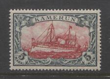 1900 German colonies Cameroun 5 Mark Yacht issue mint**, $ 750.00