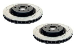 DBA T2 Slotted Brake Rotor Pair Front DBA650S