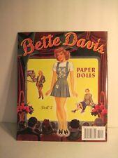 Betty Davis 2 Cut Out Paper Dolls