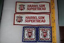 Vintage Car Tire Rubber Asheboro NC Harrelson Tread Rubber Super 4 Patch Lot M25