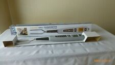 Chefs Basics Electric Grill Thermometer Built In LCD & LED NEW Original Box