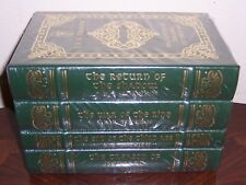 Easton Press HISTORY OF THE LORD OF THE RINGS - J R R Tolkien 4 vols MINT Sealed