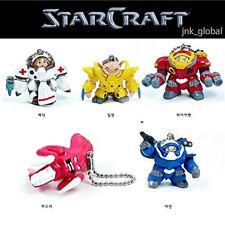 STARCRAFT Marine Zealot Hydra Firebat Medic Character Key Ring Keychain Set Gift