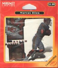 MARCUS ALLEN KANSAS CITY CHIEFS MAGNET BY CROWN PRO 1997 NIP