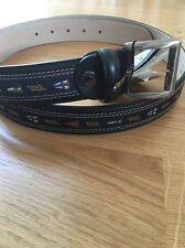 Paul & Shark Leather Belt 110cm BNWT
