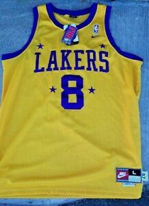 Vintage Nike NBA Los Angeles Lakers Kobe Bryant #8 Throwback NWT 1957 Jersey...