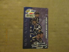 CHL Colorado Eagles Vintage Circa 2004-05 Logo Hockey Pocket Schedule