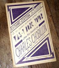 vas-y donc Totor java très dansante orchestre musette piano cond. 1935 Chobillon