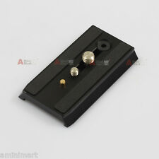 501PL Sliding Dovetail Quick Release Plate fr Manfrotto 501 503 701 HDV Head New