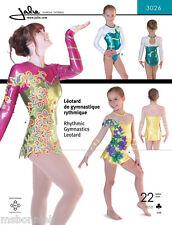 Jalie Rhythmic Gymnastics & Twirling Skirted Leotard Dress Sewing Pattern 3026