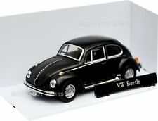VW VOLKSWAGEN BEETLE 1:43 Car NEW Model Models Cars Die Cast Black Miniature