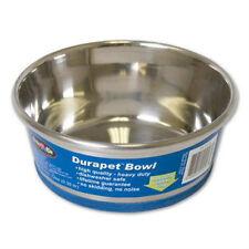 (2) Dura Pet Premium Stainless Steel Dog Cat Bowl - 0.75 Pint/ 1,25 cups