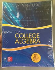 College Algebra MAC1105 by Julie Miller: McGraw Hill Aleks access code included!