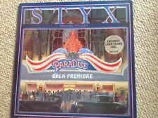 Styx 'Paradise Theatre' 1980 Gatefold vinyl LP with Laser Etching VGC+