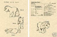 US PATENT for MY LITTLE PONY 1983 Hasbro toy Art Print READY TO FRAME!!!!!