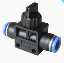 6mm to 6mm pipe Pneumatic Ball Valve On Off Flow Push fittings OEM
