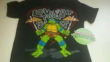 NWT Black Teenage Mutant Ninja Turtles Love At First Slice T Shirt 12 Months