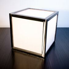 Leuchtwürfel aus Stahl & Acryl von LICHTfunken - Lichtwürfel LED Cube / Würfel