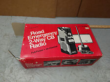 Realistic Road Emergency 2-Way CB Radio- New in Box ! 21-1506
