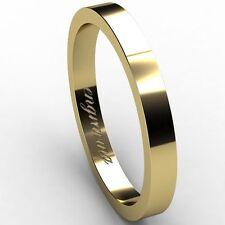 14 Carat Yellow Gold Band Rings for Men