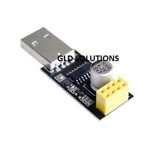 SCHEDA Adattatore USB ESP8266 chipCH340G x caricare firmware/codice Arduino