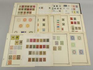 Interesting El Salvador Stamp Collection Lot Tax Fiscal Revenues, Locals+ 1800s+