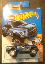 2016 Hot Wheels CUSTOM Super '17 Ford F-150 Raptor with Real Riders