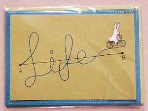 Papyrus Blank Inside Card - Life Bunny