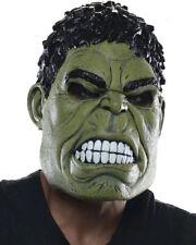 Hulk Three Quarter Adult Mask One Size