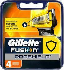 Gillette Fusion5 Proshield - 4 Razor Blades Genuine no Fakes