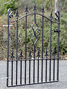 Wrought Iron Gate/Gates -TOP QUALITY-to fit 3ft  (914mm)  opening- WEAR DESIGN