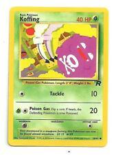 Koffing Pokemon Team Rocket Individual Card (58/82) - NM/M Condition