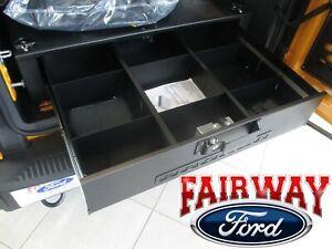 21 thru 22 Bronco Ford Black Cargo Lockable Security Door - 4-DOOR MODEL ONLY