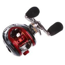 Saltwater Baitcasting Reel Right Hand Baitcaster 10+1BB Fishing Reels Red