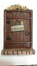 Fairy door, Miniature Fairy Garden Welcome Fairy Door