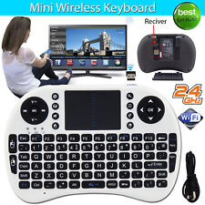 2.4ghz Wireless Mini Keyboard Fly Air Mouse QWERTY Touchpad for Android TV Xbox