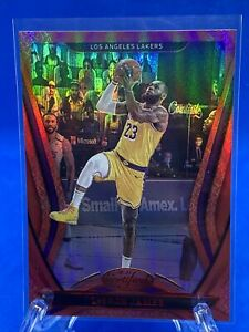 2020-21 Panini Certified LeBron James Mirror Red Los Angeles Lakers #55