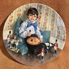 Mother Goose Little Jack Horner Limited Edt Plate John McClelland 1984 #3097 COA