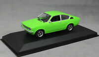 Minichamps Maxichamps Opel Kadett C Coupe in Green 1974 940045621 1/43 NEW