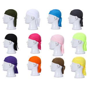 Cycling Bike Bicycle Sports Headscarf Pirate Bandana Hat 11 Colors _H2