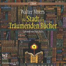 DIRK BACH - WALTER MOERS: DIE STADT DER TRÄUMENDEN BÜCHER (MP3) 3 CD-ROM NEU