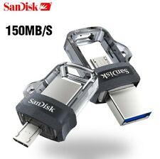 SanDisk Ultra Dual 32GB 64GB USB 3.0 OTG Pen Drive Thumb Stick
