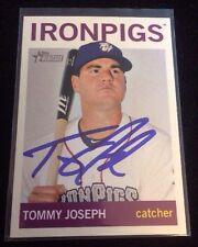 TOMMY JOSEPH 2013 TOPPS HERITAGE RC Autographed Signed AUTO Baseball Card 96