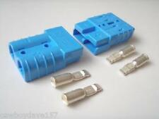 Anderson SB50 Connector Kit Blue 6 Awg 6331G5 6 Ga 2 - Pack 2 Kits Authentic