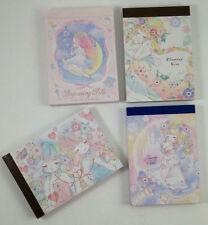 Q-lia Kamio Japan Mini Memo Pad Lot (4) Stationery Kawaii Girls Flowery Kiss